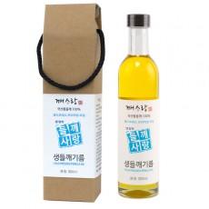 [깨사랑] 국산 냉압착 생들기름 선물BOX